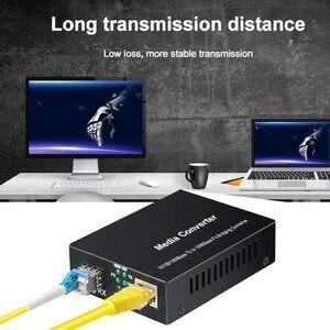 Image 2 - 1Gb Sfp Fiber Om RJ45 Glasvezel Media Converter 1000Mbps Sfp Fiber Switch Met Sfp Module Compatibel Cisco/Mikrotik/Huawei