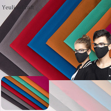 YeulionCraft 1M Breathable Cotton Fabric For Garment Dust-Pr