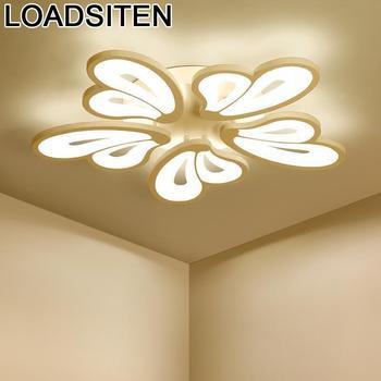 Oświetlenie domu lampara techo celling lampa sufitowa lustre plafondlamp luminaria de teto salon oświetlenie led do pokoju sufit światła