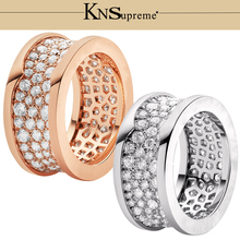 KN Bulgaria s925 Ring gift 1:1 Original 100% 925 Sterling Silver Women Free Shipping Jewelry High-end Quality Gift Have logo цена 2017
