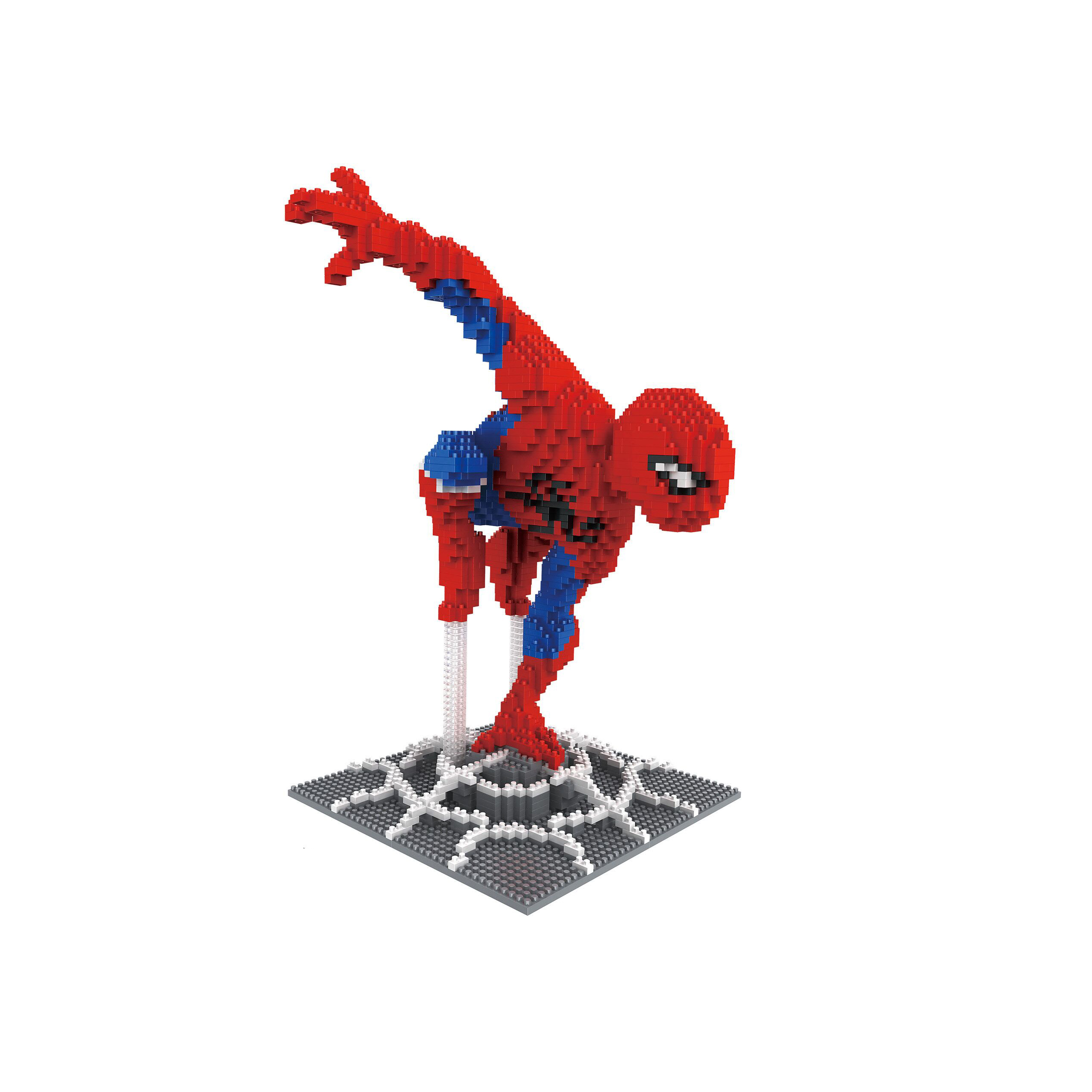New Coming Super Hero Design Block with Cheap Price DIY Mini Mirco Diamond Building Blocks Bricks Toys Kids Gift 7