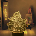 3d светодиодный ночной Светильник аниме Revue звезда светильник для Украшения в спальню, подарок на день рождения, манга гаджет Revue звезда свет...