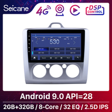 """Seicane 9"""" HD Touchscreen 2DIN Android 10 Octa Core Car Radio Multimedia Player GPS Navigation For Ford Focus 2 Exi MT 2004 2011"""