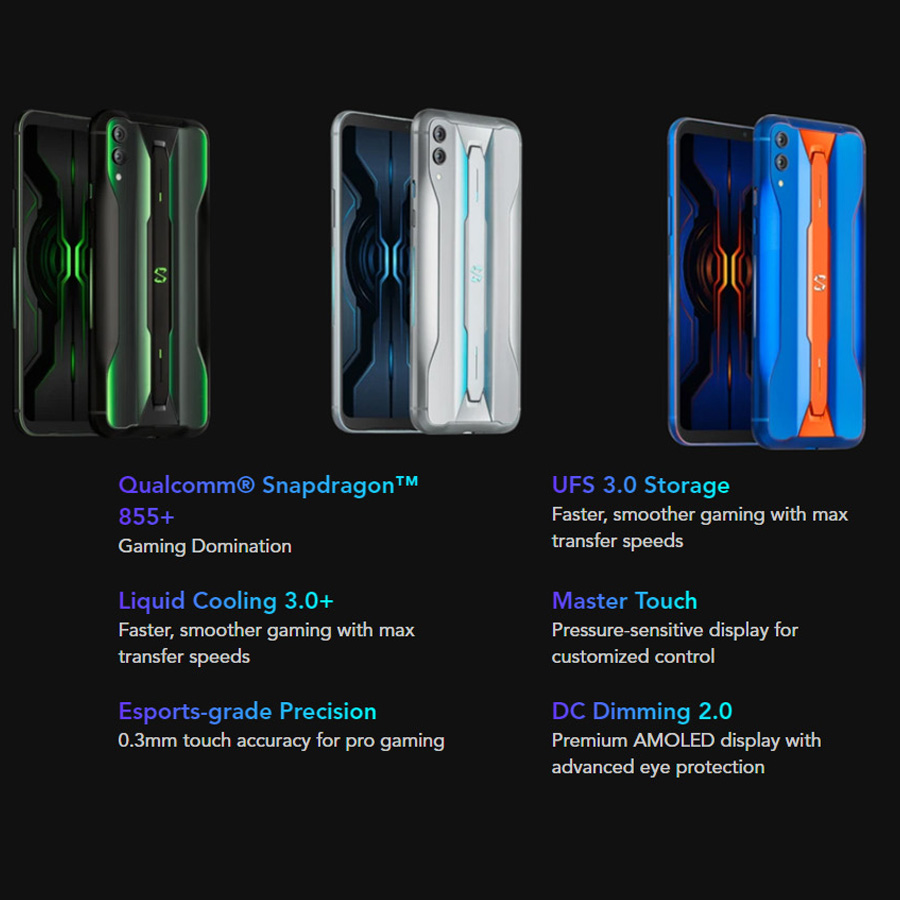 Global Xiaomi Black Shark 2 Pro 4G LTE Game Mobile Phone 6.39
