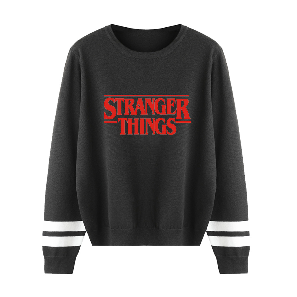 Stranger Things 2 Sweater Men/Women Knitted Pullovers New Listing Winter Sweater Men's Casual Stranger Things Sweaters Boys Tops