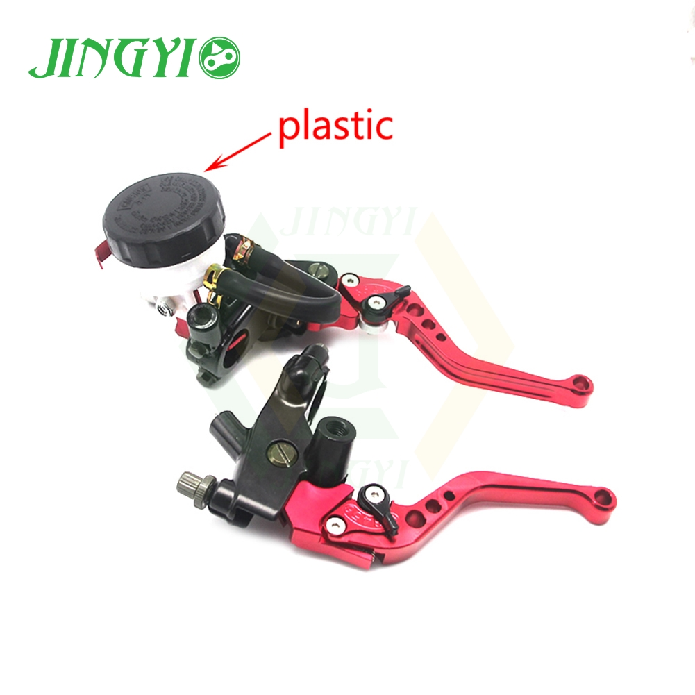 Moto Brake Clutch Pump Lever Hydraulic Accessories For yamaha <font><b>v</b></font> star 1100 raider raptor 350 r1 2004 vstarfz 16 fz6s virago <font><b>400</b></font> image