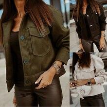 2020 шерстяное пальто с отложным воротником двойные пуговицы