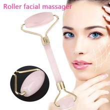 Massager for Face Roller Health Care Tool Jade Stone Thin Face Lift Anti Wrinkle