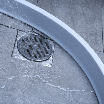 1.5m High Temperature Resistant, Corrosion Resistant Dry And Wet Separation Silicone Water Barrier