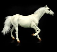 Collectible 1/6 Scale KUMIK AC 6 War Horse Simulated Animal Desktop Decoration Action Figure Dolls Toys Gifts Displays