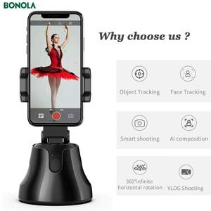 Image 4 - Bonola Auto Smart Shooting Selfie Stick Intelligent Gimbal AI Composition Object Tracking Face Tracking Camera Phone Holder