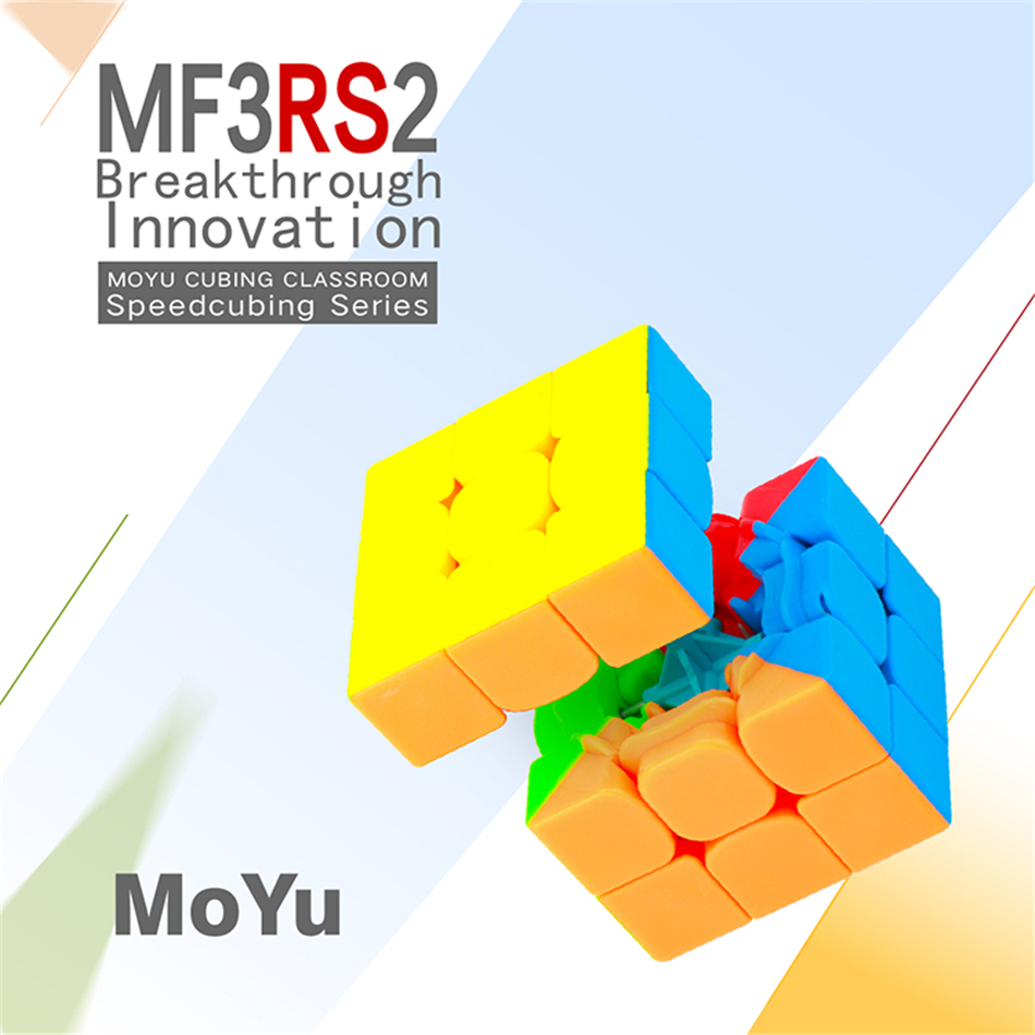 MOYU MF3RS2 Professional 3x3x3 Magic Cube Puzzle 3x3 Cube Speed Cubo Magico Educational Toys
