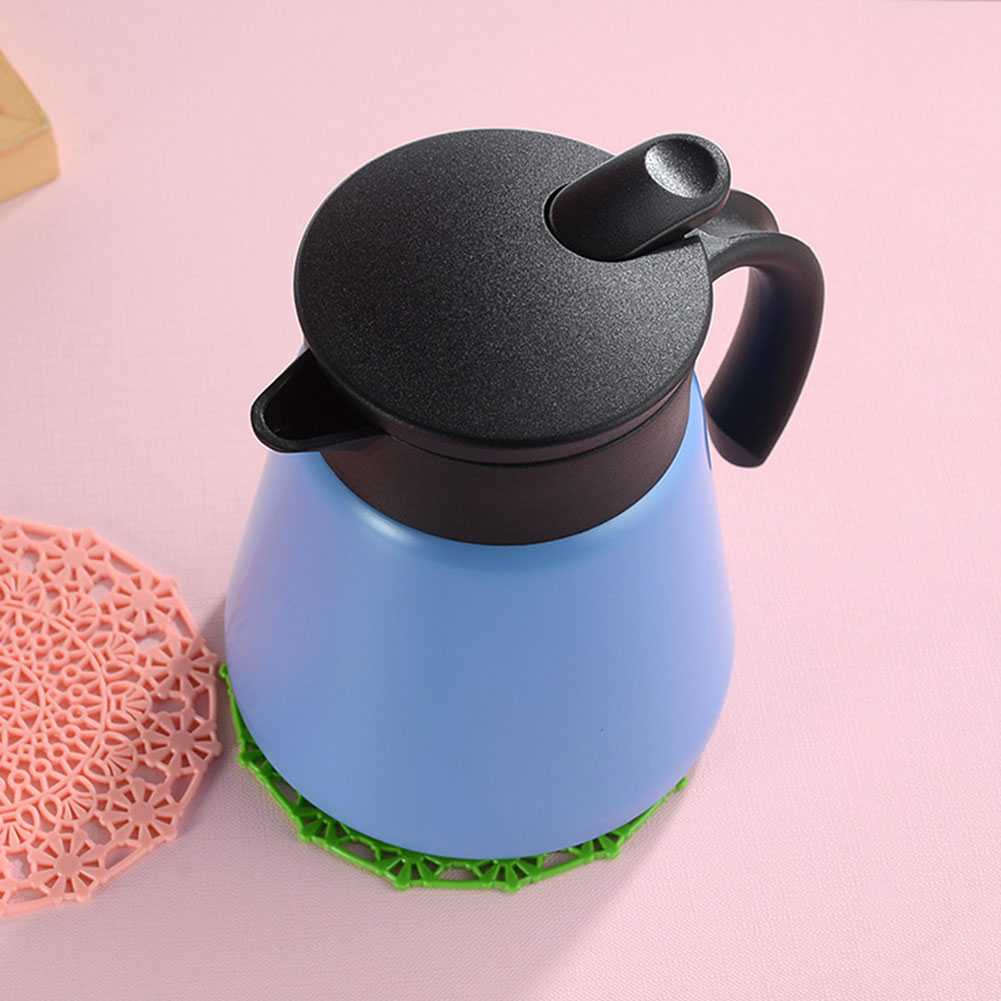 Drinking Vacuum Flask Office Large Capacity Bar Pot Home Coffee Kettle Insulation With Handle Thermal Water Jug Stainless Steel