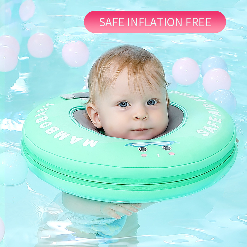 Baby Swimsuit Floating Suit Infant-free Inflatable Collar Swimming Ring Toddler Swim Vest  Lap Swim Toddler Float