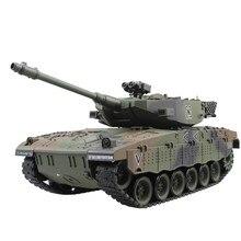 RC Tank israël Merkava véhicule tactique bataille principale militaire télécommande modèle de réservoir de guerre avec son recul électronique enfant jouets
