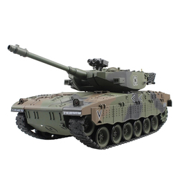 RC Tank Israel Merkava Tactical Vehicle Main Battle Military Remote Control War Tank Model With Sound Recoil Electronic Kid Toys