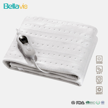 Электрическое одеяло King Size 150*80 см 220 В 240 В 60 Вт из нетканого материала, одеяло с подогревом на одной кровати и 3 нагревателями, европейская вилка