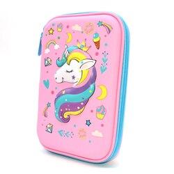 Kue Pensil Case Unicorn Estuche Escolar Kapasitas Tinggi Kotak Pensil Kalem Kutu Tas Penyimpanan Scolaire Stylo Astuccio Scuola Pena Case