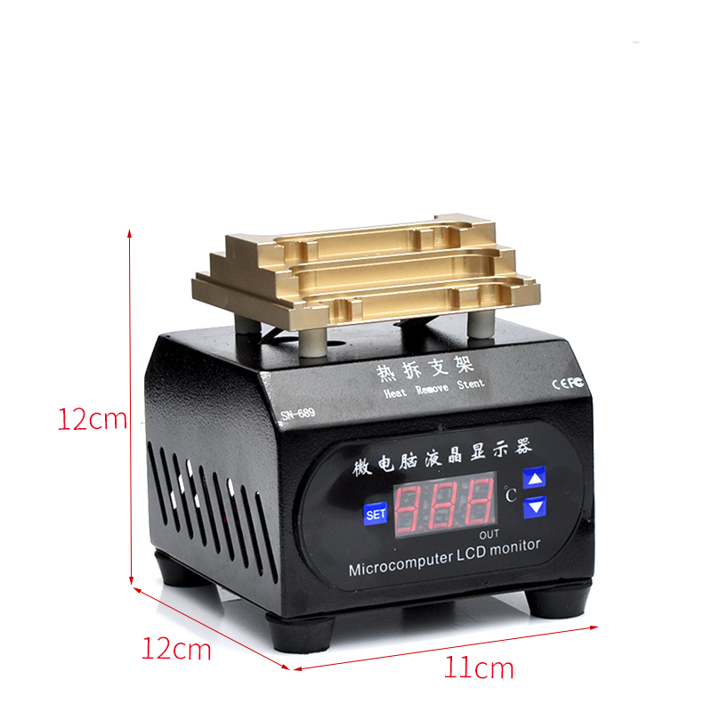 Tools : FR01 Mini Frame Removing Machine For iPhone X Xs XR XSmax 5G-8P LCD Bezel Frame Separating Tool