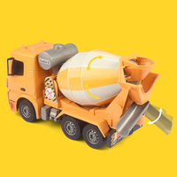 2.4G RC Dump Truck 1:26 Remote Control Cement Mixer Engineering Dumper Machine Radio Controlled Tip Lorry Auto Lift Trucks Toys