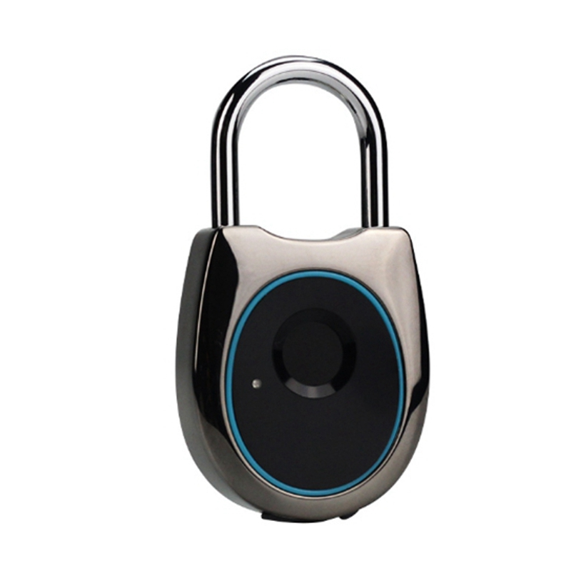 Smart Electronic Fingerprint Padlock Home Travel Luggage Gym Cabinet Bedroom Door Electronic Lock