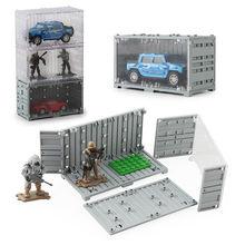 Пластиковая модель фигурки блоки игрушка автомобиль дисплей