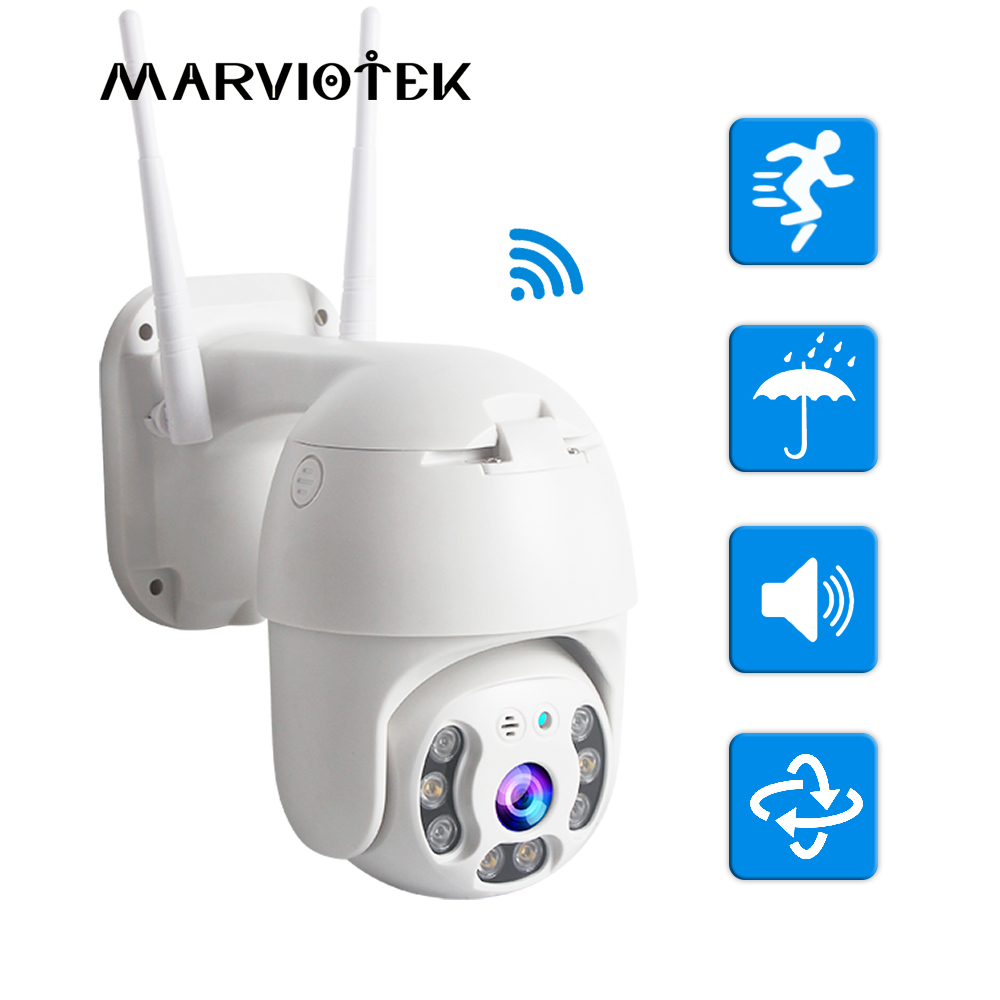 IP Camera WIFI Outdoor PTZ IP Camera 1080P Mini Speed Dome Home Security Cameras WIFI CCTV Camera Video Surveilance Night Vision