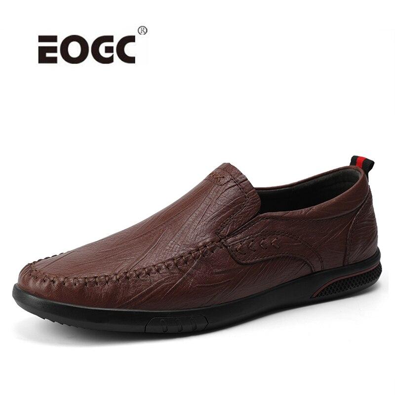 Купить мужская повседневная обувь ручной работы из натуральной кожи;