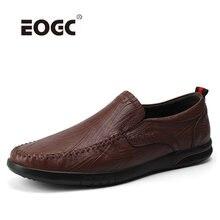 Мужская повседневная обувь ручной работы из натуральной кожи;