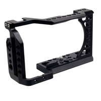 BGNing Camera Cage Frame Case Video Film Making Stabilizer Part w 1/4 3/8 Screw Hole for Sony A6500/A6400/A6300/A6000 SLR DSLR