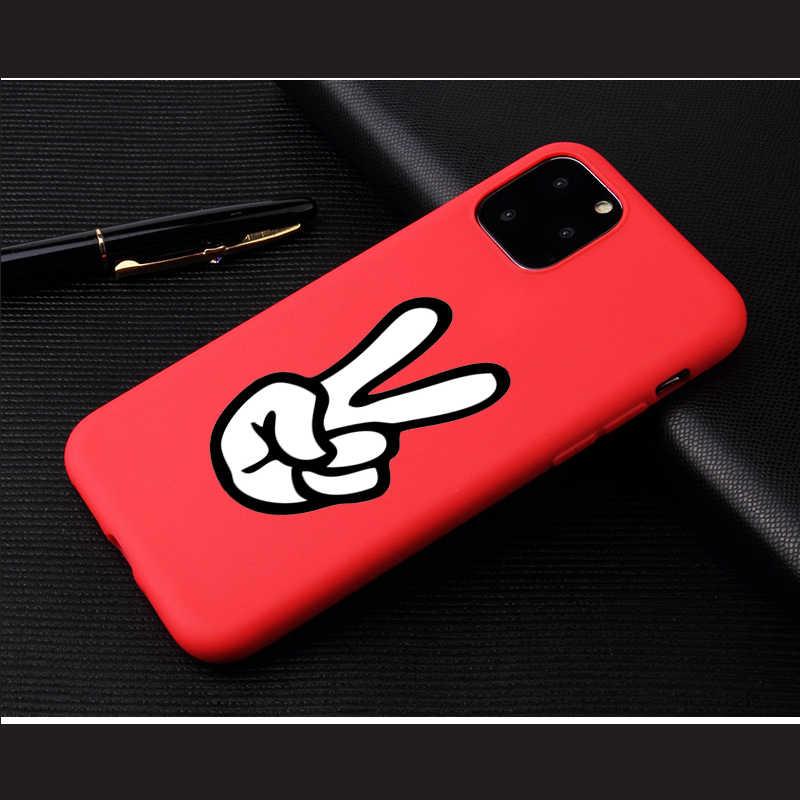 Классный милый чехол для телефона с собачкой для iPhone 6, 7, 8 Plus, X, XR, XS, 11Pro Max, чехол s для iPhone 11 Pro, мягкий силиконовый чехол, красивый дизайн