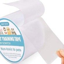 Новые Pet Когтеточка для кошек защита коврик для кошек, Когтеточка для кошек защитное покрытие от когтей для дивана, мебели подушечки для кожаными стульями протектор обучение лента