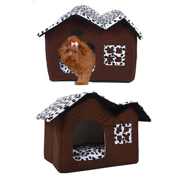 Removable Foldable Pet Dog House Cat Bed Cat Litter dog sofa Cushion Cat Mat For Small Medium Dog Puppy Dog cave Animal Lazy bed