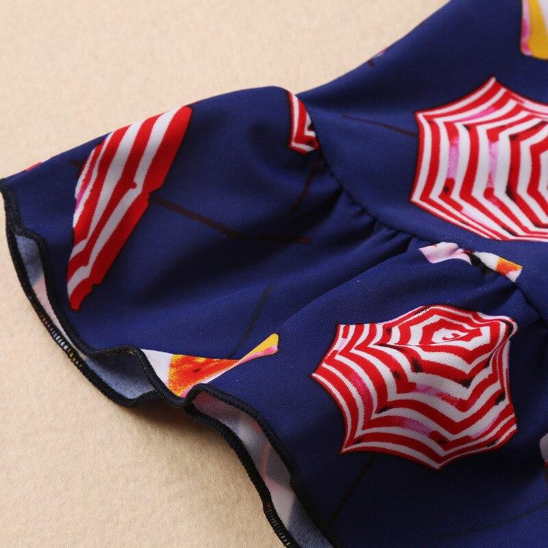 South Korea 201 New Style Girls Sun-resistant Princess Skirt Swimwear Hot Springs-Children Split Skirt-Long-sleeved Swimsuit Ang