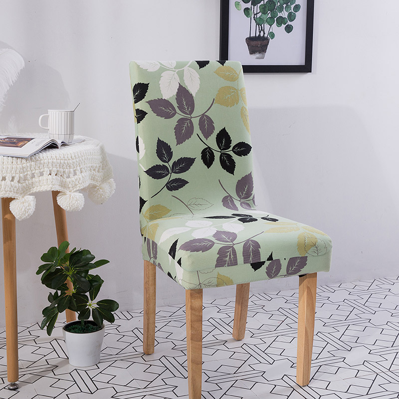Removable Stretch Chair Covers Slipcovers Dining Room Stool Seat Cover Decor USA
