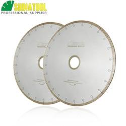 Алмазная керамическая дисковая пила SHDIATOOL, 2 шт., 14 /350 мм, с отверстием для крючка, 60 мм, редуктор для керамической плитки 50 мм