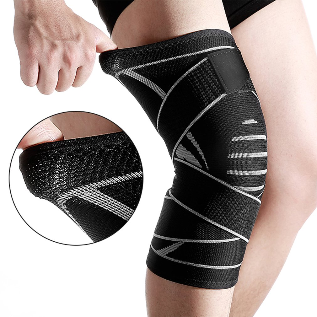 Knit Knee Pads Durable Nylon Knees Brace Sports Protecting Pads Ultra Thin Knees Support Safety Kneepad Top Sales