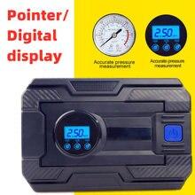 Dc12v портативный автомобильный шинный насос цифровой экран/указатель