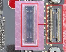 5 قطعة/الوحدة ل ماك بوك برو A1706 A1707 A1708 A1989 A1990 A2159 A2251 A2289 LCD EDP عرض موصل المقبس فتحة