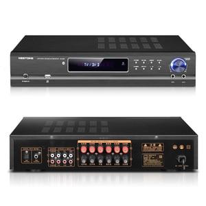 Image 2 - KYYSLB AV 985 650W 220V 5.1 Channel 4.0 Bluetooth Amplifier Home Theater Audio High Power Fever Ktv Amplifier Karaoke with USB