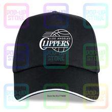 La Clippers-Gorra de béisbol para hombre y mujer, color negro, ventilador Lob City, baloncesto, Los Ángeles, tapas de controladores de algodón, unisex