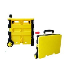 Handcart Portable Storage Box Folding and Receiving Trolley Shopping Cart Outdoor Multi-functional