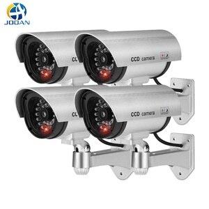 4 sztuk wodoodporna sztuczna kamera manekina na zewnątrz kryty Bullet kamery monitoringu bezpieczeństwa cctv kamery