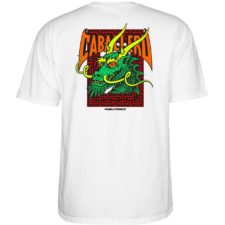Powell-Peralta Steve Caballero Street Dragon (White) T-Shirt Men T Shirt Great Quality Funny Man Cotton Normal