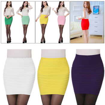 2019 Fashion Sexy Pencil Skirt Fitted Slim Tight Shorts Femme Faldas Mujer Natural Above Knee Pencil Solid Office Lady Lanon image