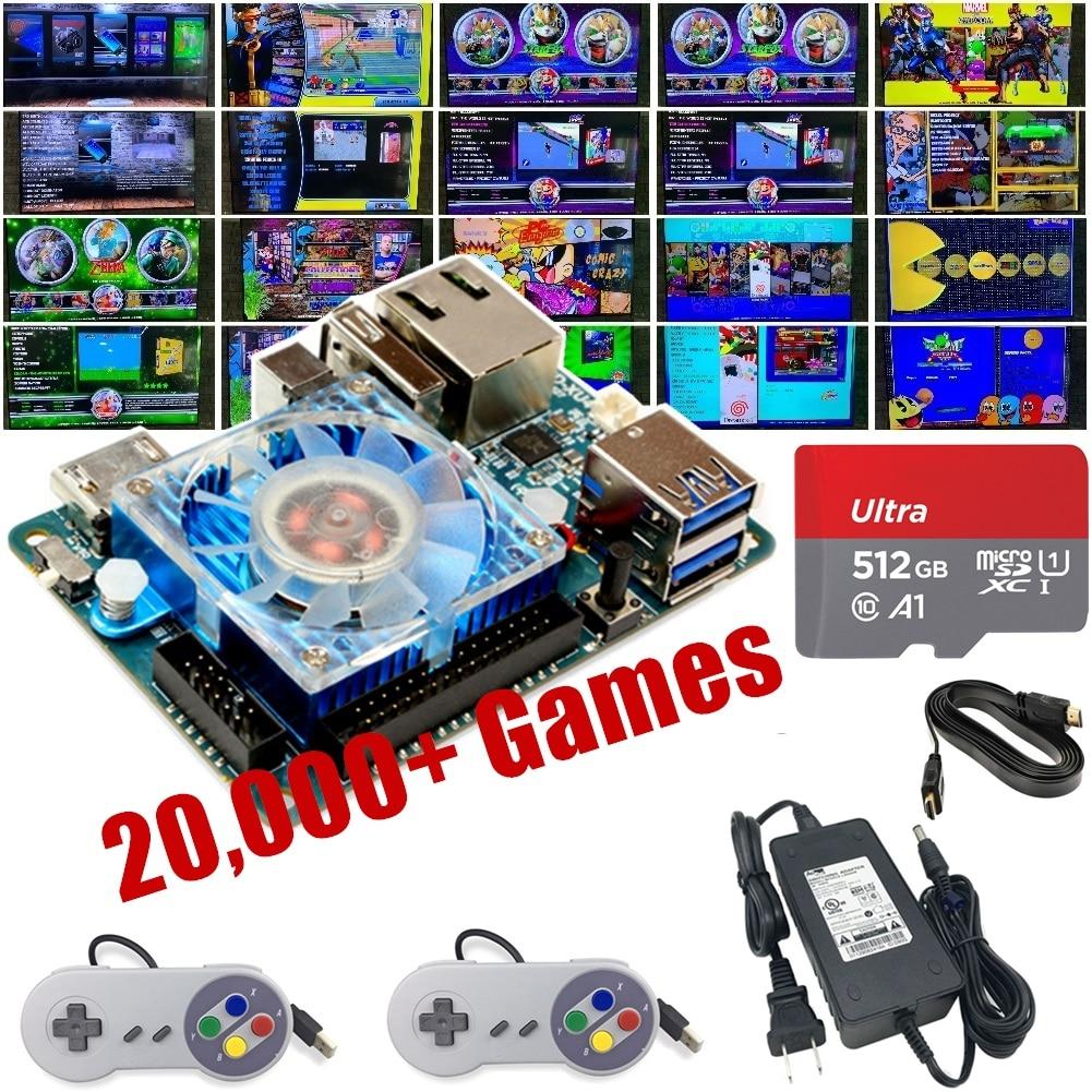 updated 121018! Sega Saturn Naomi Atomiswave.. 200 GB ODROID XU4 latest Ora v1.61 Retropie SD Card 3D Boxart Video Previews