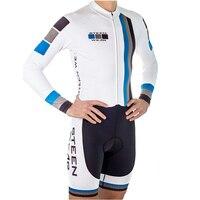 남자 트라이 애슬론 정장 sportwear 도로 사이클링 저지 점프 슈트 긴 소매 사이클링 skinsuit maillot 사이클링 세트 ropa ciclismo