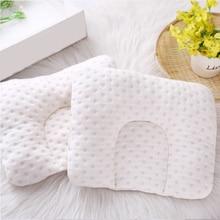 Children´s Pillow U-Shaped Warm Cotton Baby Anti-roll Pillow Newborn Anti-headrest Flat Head Sleeping Positioner