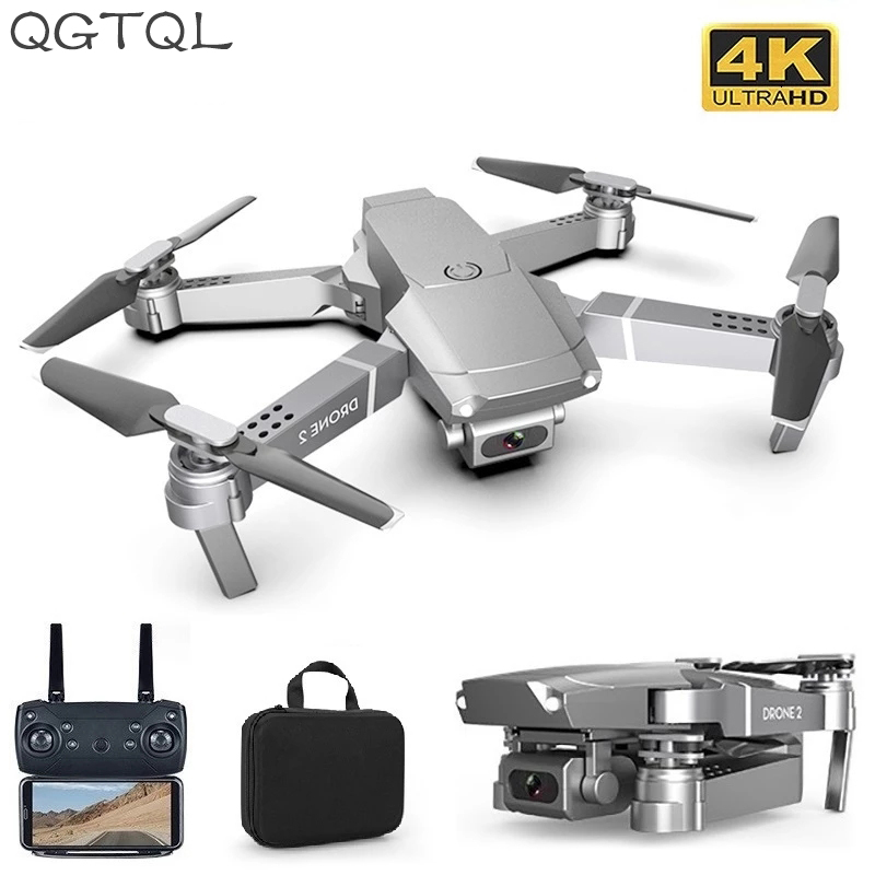 LSRC New E68pro Mini Drone Wide Angle 4K 1080P WiFi FPV Camera Drones Height Hold Mode RC Foldable Quadcopter Dron Boy Toy Gift 1