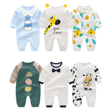 Andy Papa Toddler Baby Boys Girls Rompers Infant Newborn Body Jumpsuits New Arrival Cotton O-neck Cute Printed Onesie Kids Cloth
